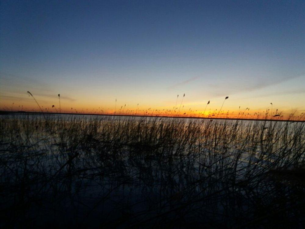 Чановский закат