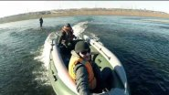 Тестирование лодки СТРИЖ JET 420 под водометом TOHATSU M 40C, г. Красноярск