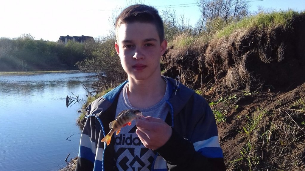 Весенняя ловля на реке