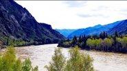 Алтай. Горная река Катунь.