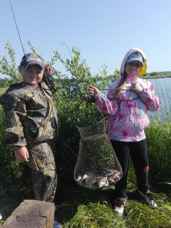Мои юные рыбаки!!!