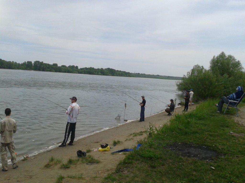 Сегодня на реке Обь. И я там был....:) 7 июня 2017