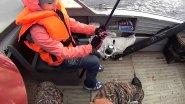 Рыбалка с дочкой на крупную щуку. Троллинг на реке Печора.