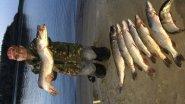 Рыбалка троллингом. Первый опыт рыбалки на р. Печора. г. Нарьян-Мар.