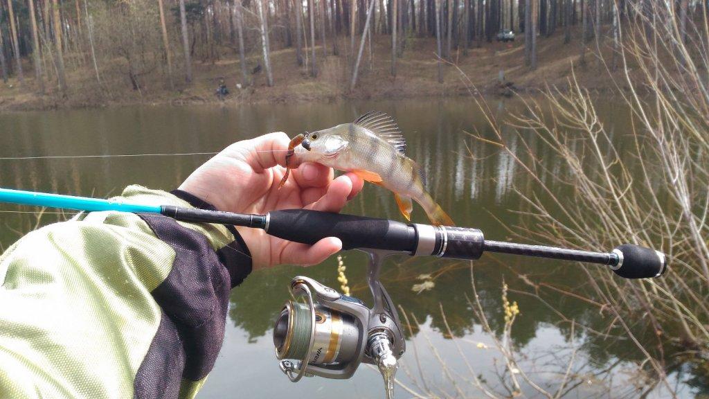 Тест драйв спиннинга Crazy Fish Inspire, 712 SUL-S, 2.15m, 0,5-6g, Extra Fast.