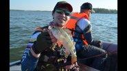 Рыбалка с лодки на ОВХ