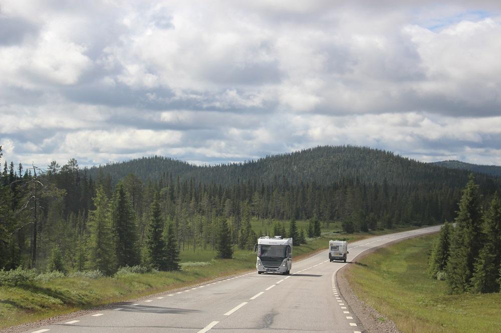 Дорога на север Швеции, 2017