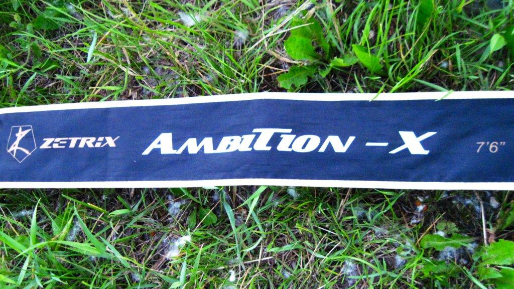 Как поймать жирного судака? Или ZETRIX Ambition-X-762MH - всегда думай о хорошем!