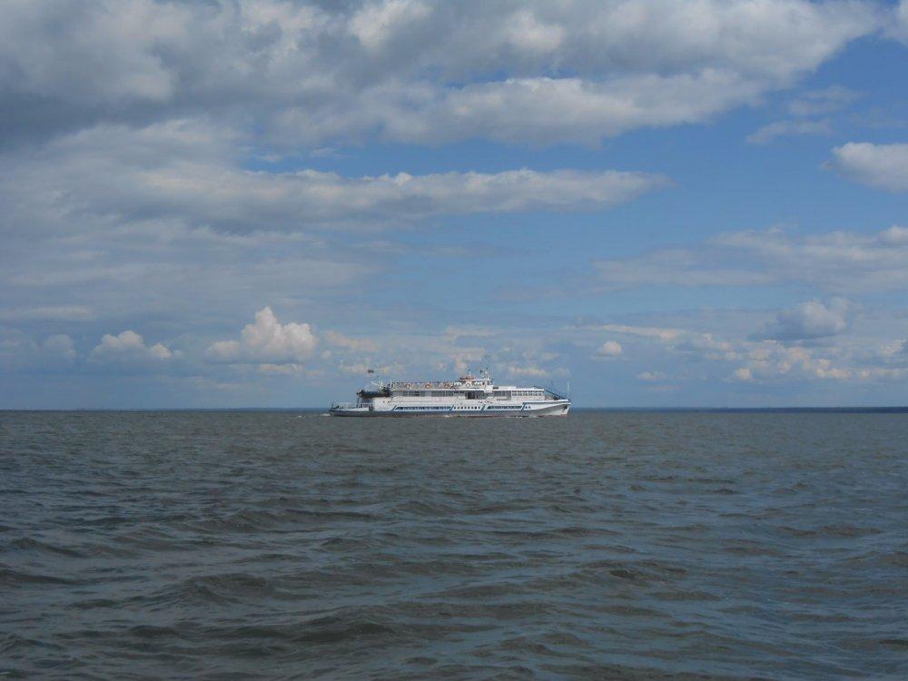 Кораблик в Боровом.