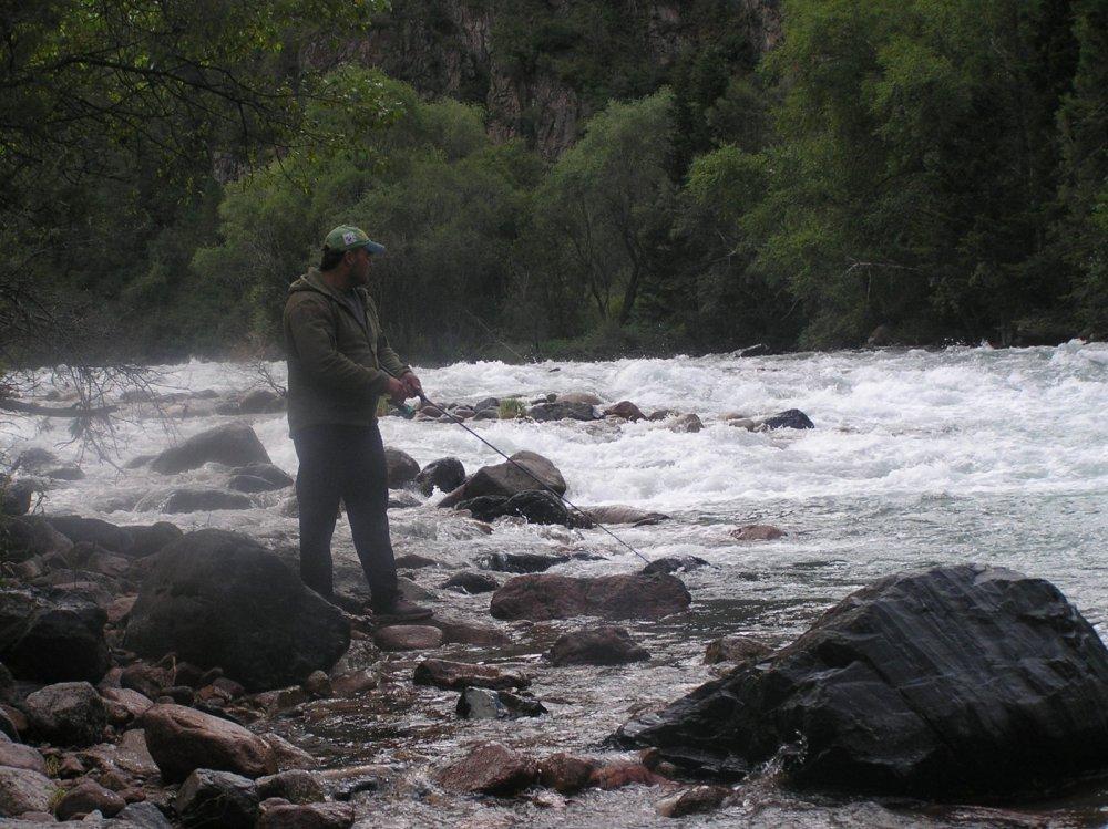 Горная река в Киргизии!!!!