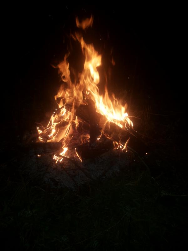 Огненный демон.