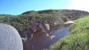 В поисках хариуса на тундровых речках. Fishing.