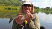 Сплав по реке Ай  Рыбалка со спиннингом