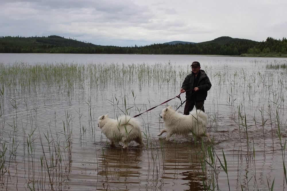 Озеро...