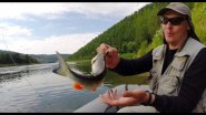 Рыбалка на реке в уловистой точке