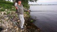 рыбалка на Каме ,вечерний клёв