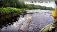 Рыбалка на р Оять .Трудовая рыбалка.