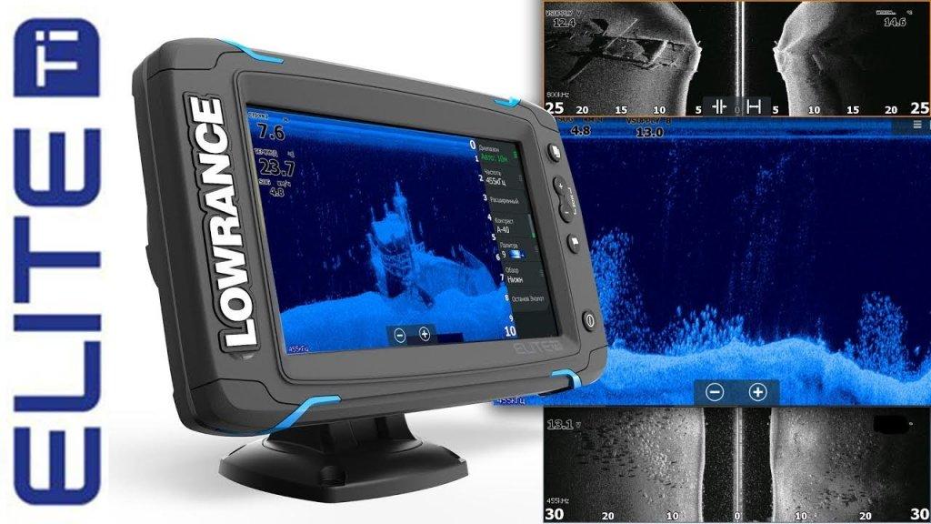 StructureScan HD на эхолоте Lowrance Elite-7 Ti TotalScan