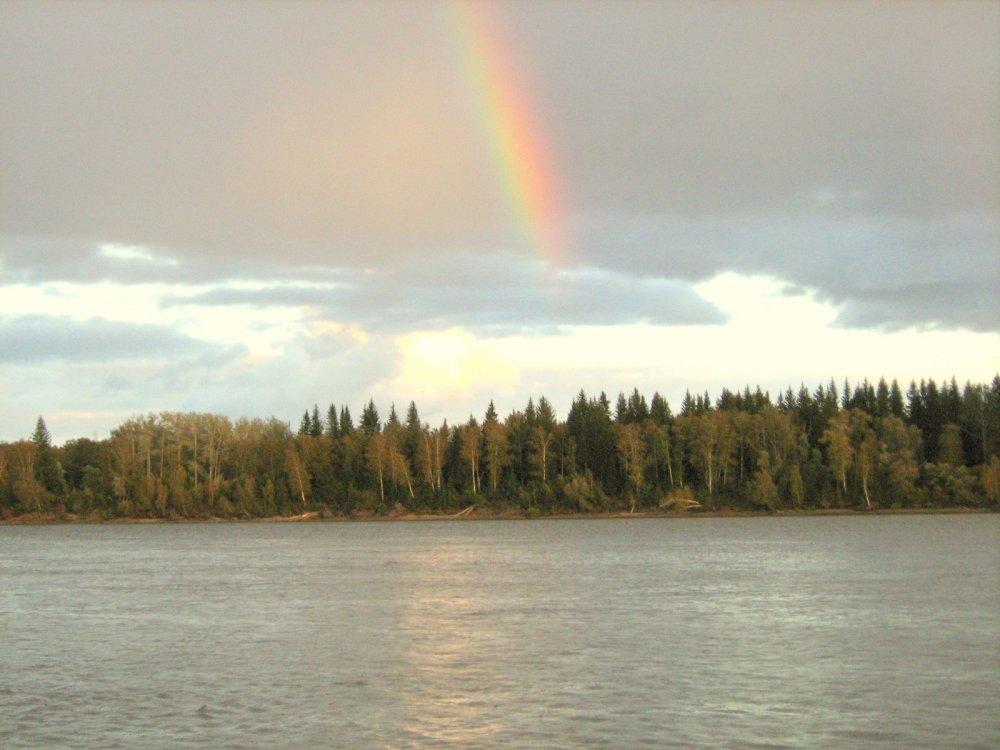 Осенняя радуга.