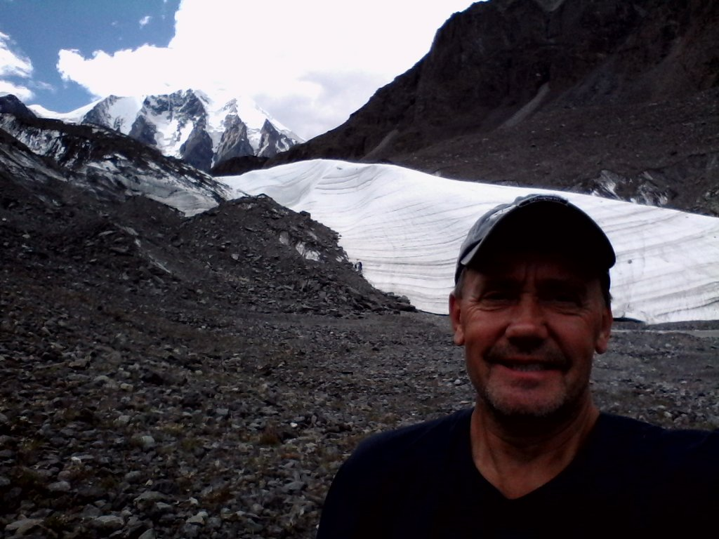 Карагем-баш и ледник маашей