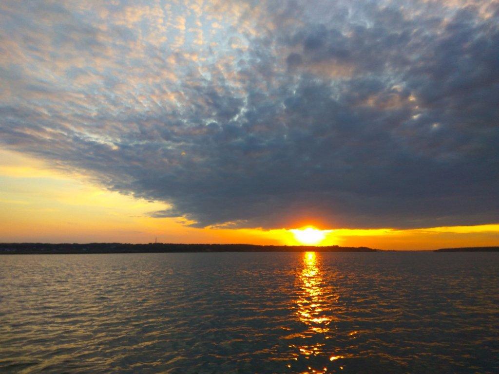 Закат на Бердском заливе