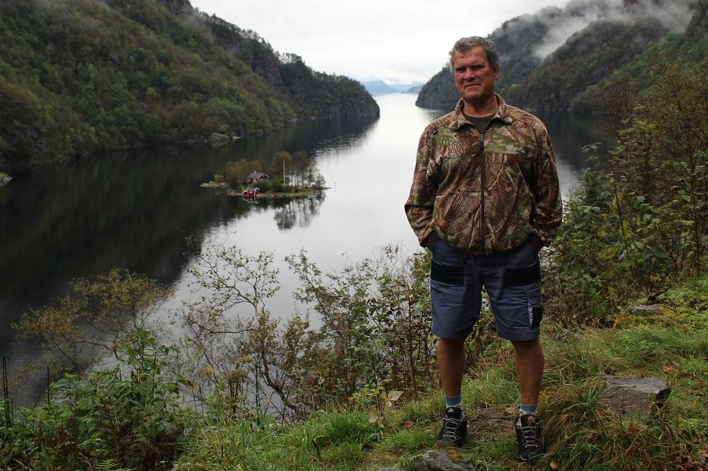 Островок в фиорде, Норвегия 2017
