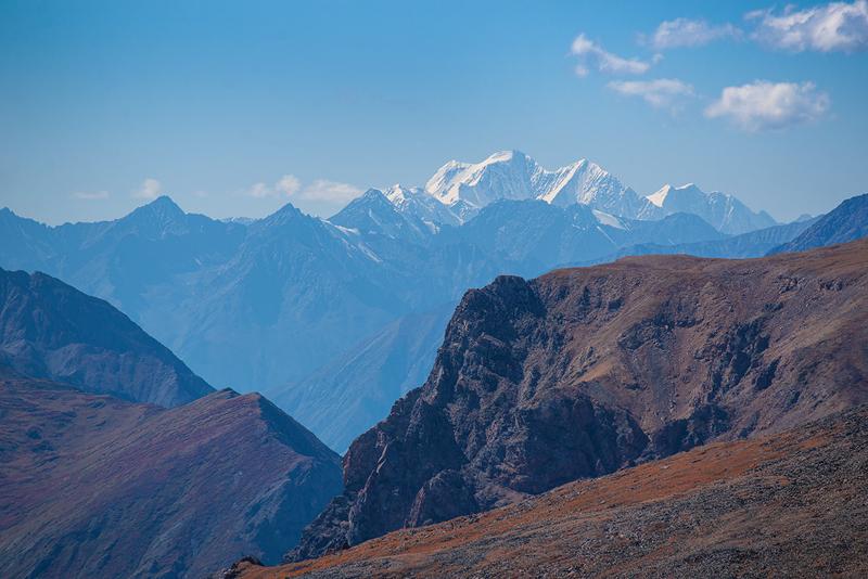 Белуха с Карагемского перевала