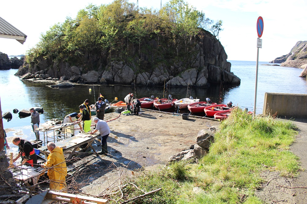 Рыбалка в Норвегии 2017 (вернулись с морской рыбалки)