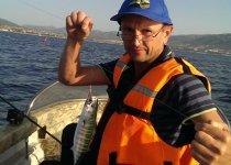 Геленджик, Черное море, пеламида на троллинг