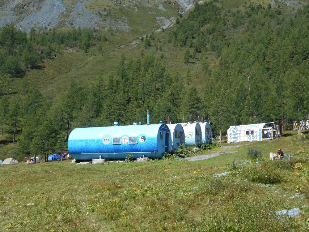 База спасателей на Аккемском озере