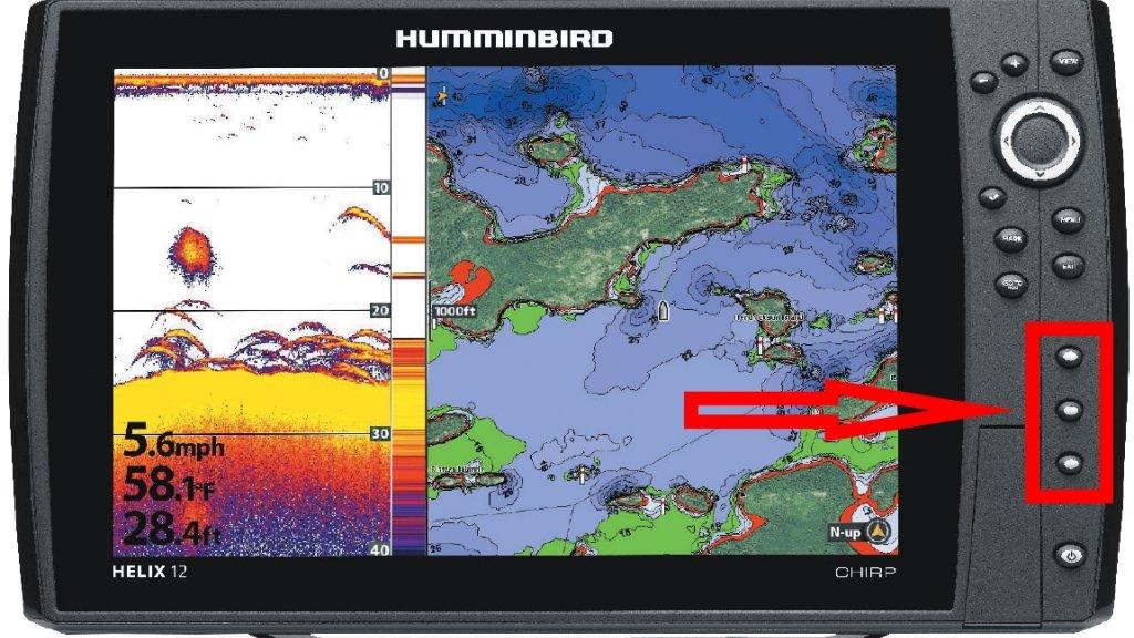 Humminbird Helix 12: обзор функций, примеры отображений.