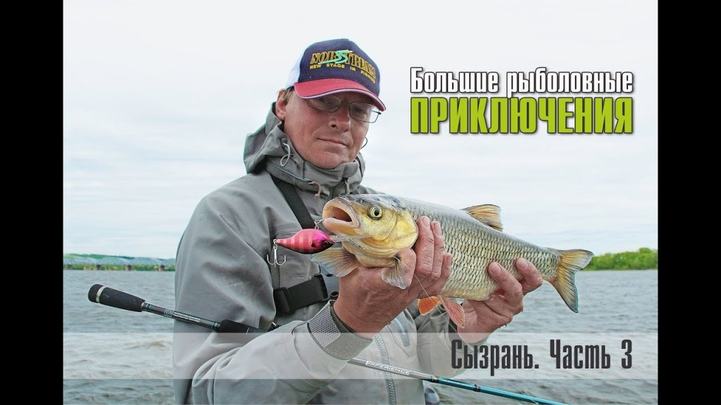 Большие рыболовные приключения. Сызрань. Часть 3