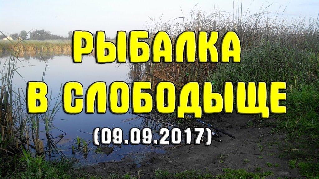 Рыбалка в с. Слободыще (09.09.2017). Ловля карася на поплавочную снасть