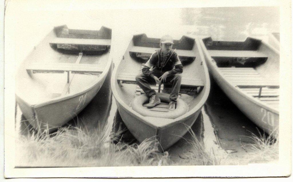 К морской прогулке я готов!...=)  База СибВО Шарап. Июнь 1985 г