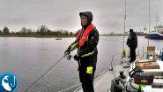 Рыбалка с яхты SPARTA. Ловля судака и окуня на джиг на реке Даугава | Рыбалка с Родионом