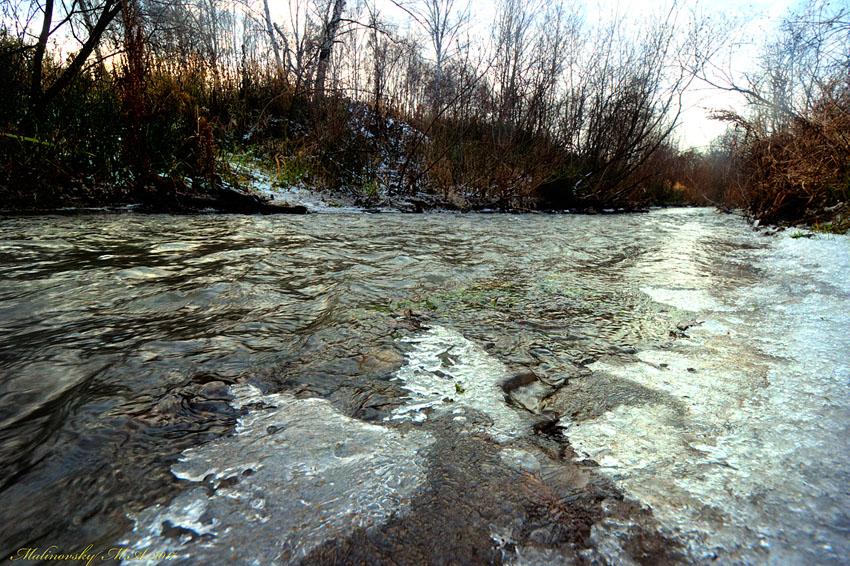 Малые реки Сибири. Ноябрь 2017