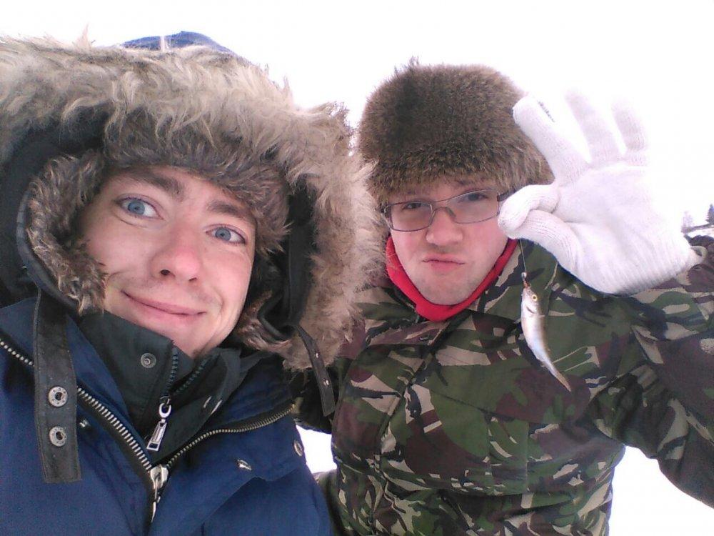 Первый улов в этом году))