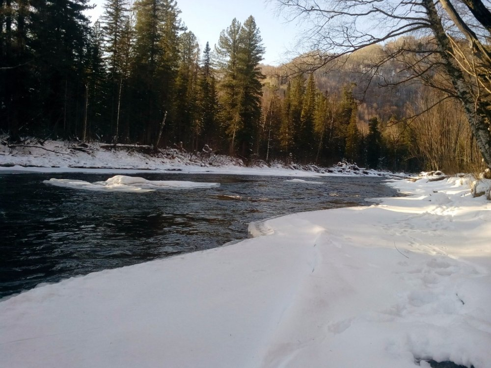 Красавица река