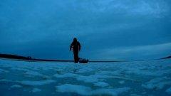 Как мы с Чарли Налима Никодима по первому льду искали, Перволедь ноябрь 2017