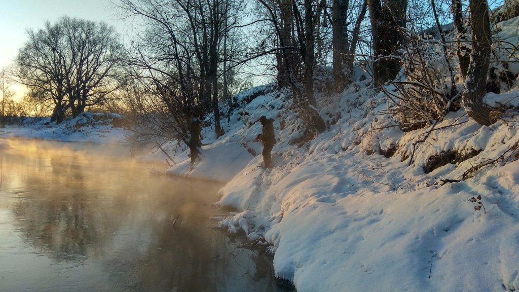 Сибирский зимний спиннинг