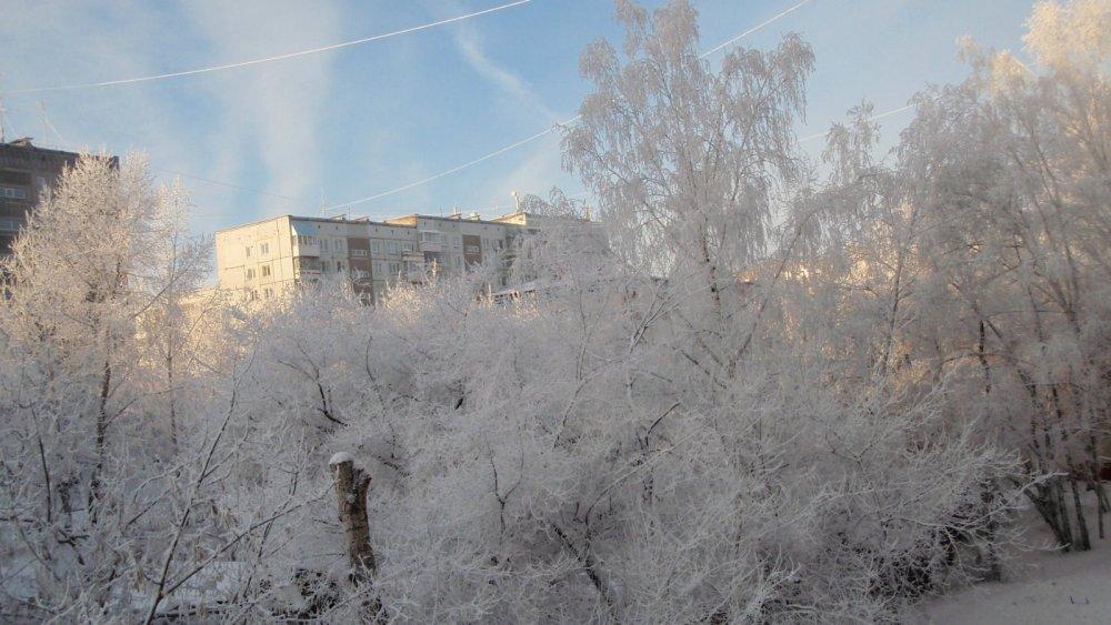 Зимняя сказка в городе. Дедморозовское творчество в предновогодние дни.