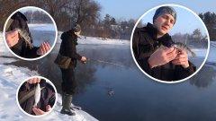 Рыбалка на спиннинг в декабре?! Настоящие сибиряки знают в этом толк!