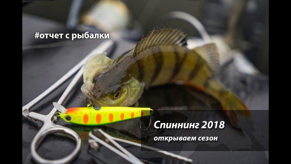 Спиннинг 2018. Откываем сезон