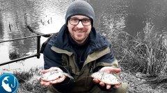 Фидер в январе на реке Роя. Фидер на малой реке | Рыбалка с Родионом
