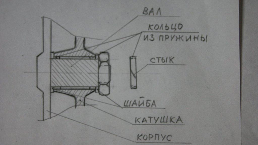 Переделка катушки