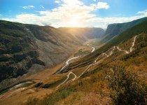 Долина реки Чулышман и перевал Кату-Ярык летом 2017, Горный Алтай