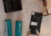 ремонт аккумулятора на эхолоте гармин 276С №3