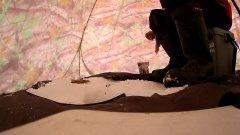Клёв плотвы перед метелью