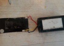 ремонт аккумулятора на эхолоте гармин 276С №1