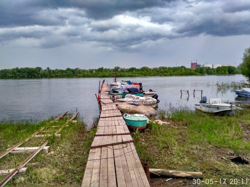 Первые выходы на реку.